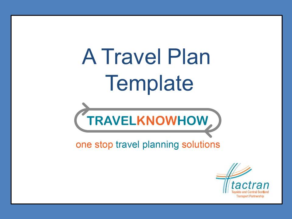 travel know how adaptable travel plan template download today
